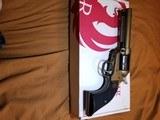Ruger Wrangler 22 long rifle single action NIB - 7 of 7