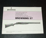 BROWNING B27