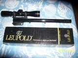 CONTENDER 375 Winchester barrel and Leupold scope - 1 of 7