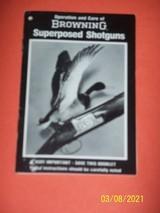 Browning manual for Superposed Presentation models