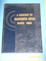 """browning hardcover book, """"a history of browning guns from 1831"""""""