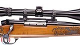 1984 Weatherby Lazermark in .270 Wby Magnum plus Mint Burris 6x18 with starburst rings.