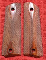 Colt or 1911 Full Size Double Diamond Checkered Pistol Grips