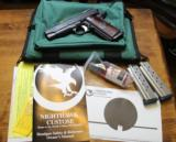 Nighthawk Custom Bob Marvel 9mm 1911 Commander
