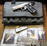Wilson Combat CQB Compact Stainless 45ACP 1911 with Extras will All