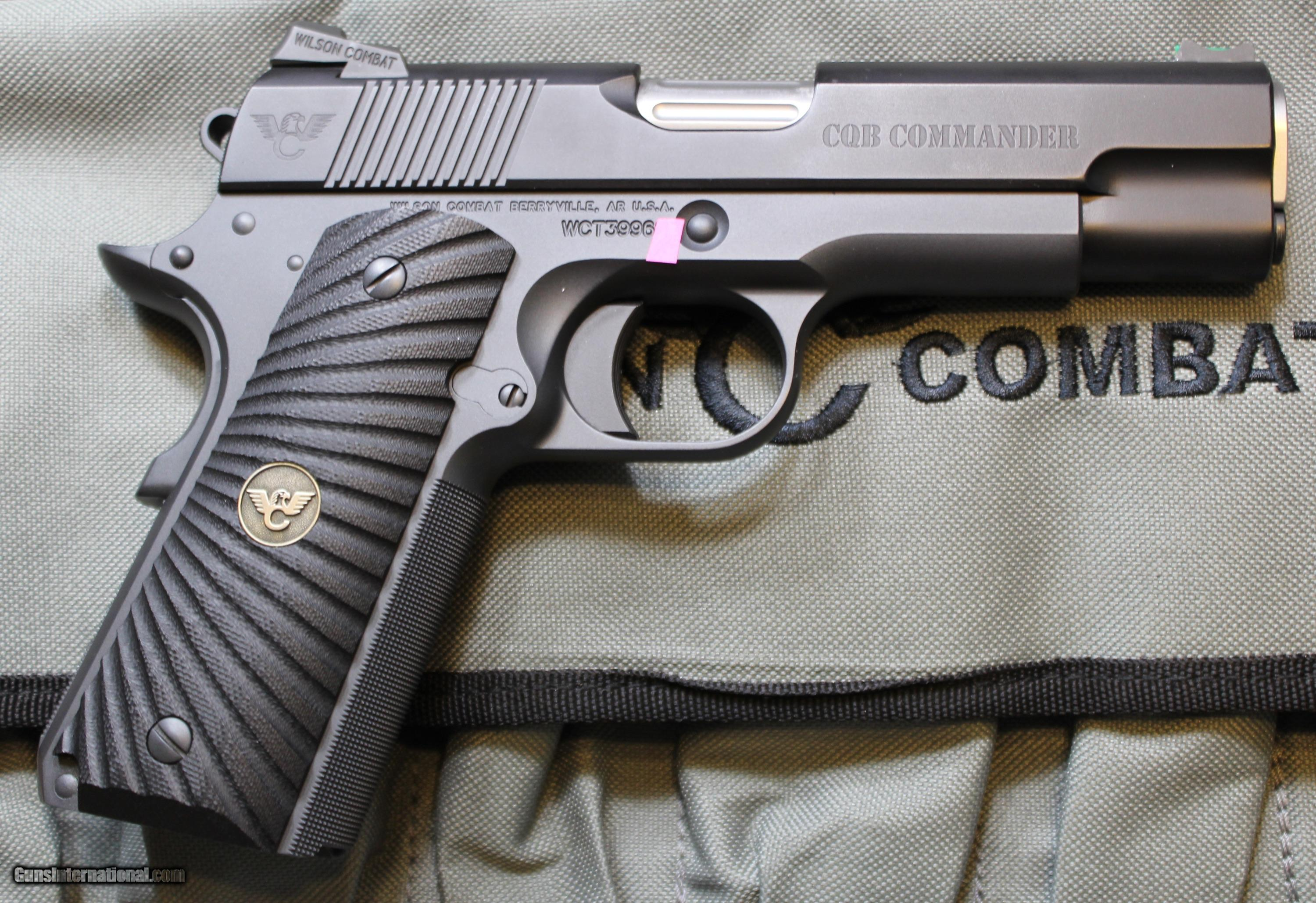 Wilson Combat CQB Commander 1911 45ACP with all