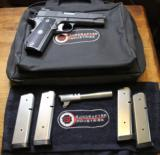 Guncrafter Industries No 3 50 GI Bobtail 1911 Commander w 4 mag and Spare Barrel