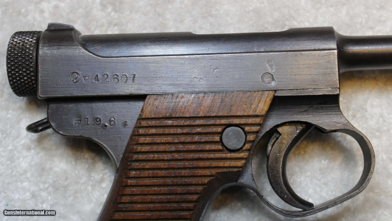 nambu pistol serial numbers