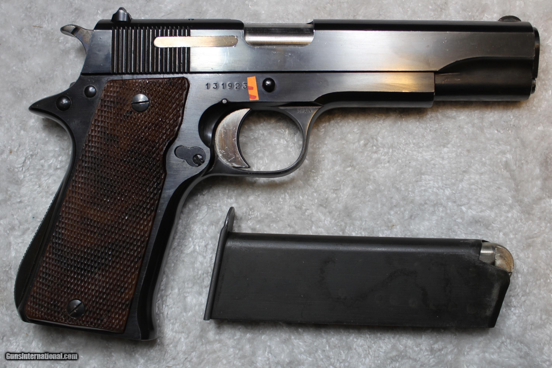 STAR B Echeverria S A  Model BS 9mm Semi Pistol one Magazine