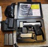 Cylinder & Slide Kahr PM9 9mm Custom Level II/III with 3 Magazine 2 Holsters - 2 of 25