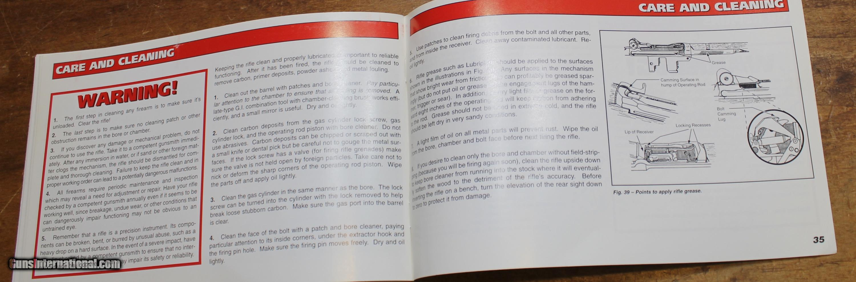 original factory dcm cmp m1 garand manual not a reproduction rh gunsinternational com