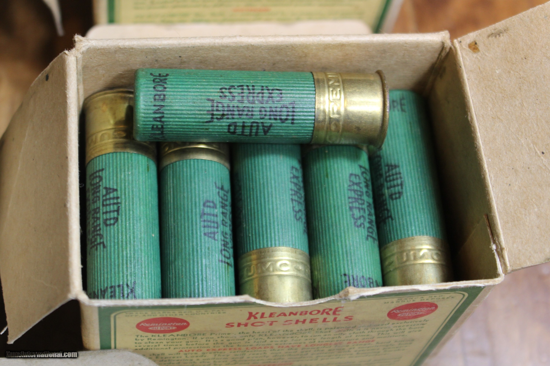 Vintage Remington 16 GA Shotgun Shells 144 Rounds Western