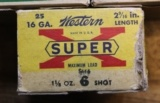 Vintage Remington 16 GA Shotgun Shells 144 Rounds Western Super X 16 GA 25 Rounds 7 Boxes Total - 18 of 20