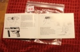 Original Factory Walther P5 Manual NOT a reproduction - 4 of 5