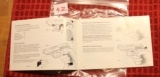 Original Factory Walther P5 Manual NOT a reproduction - 3 of 5