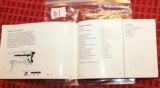 Original Factory Walther P5 Manual NOT a reproduction - 6 of 6
