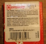 Two (2) Boxes of 100 count 9x18 Makarov Bullets Hornady Bullets 95 Gr HP/XTP # 36500 - 2 of 8