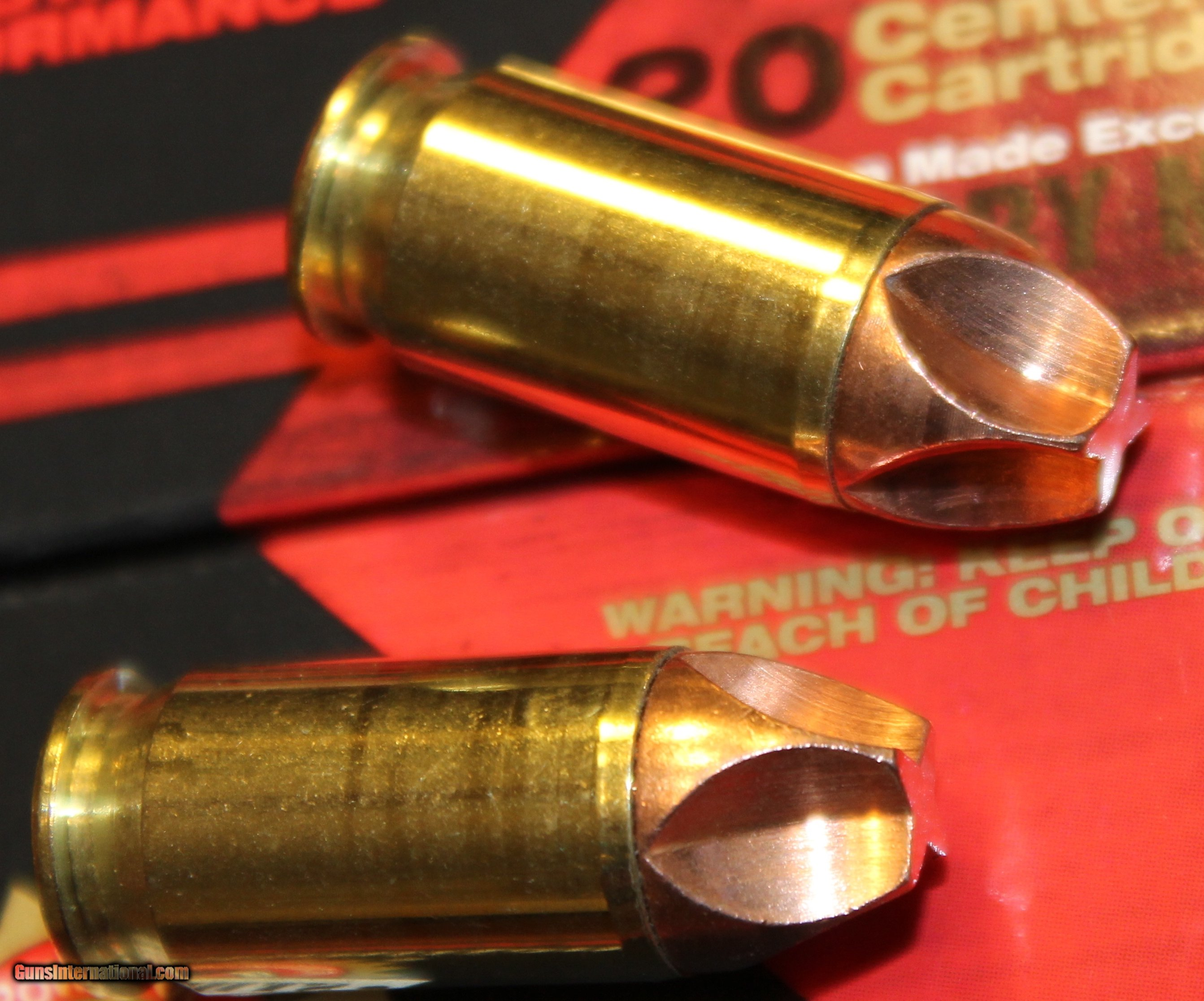 100 rounds of Black Hills 45 ACP 135 Gr HoneyBadger Handgun
