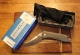 Benchmade Titanium MONOLOCK 761 Plain Edge Silver Lock Blade Knife - 4 of 12