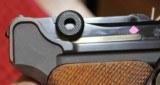 Original Mauser Interarms Parabellum 9mm Luger P08 6 Inch Semi Auto Pistol - 16 of 25