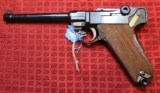 Original Mauser Interarms Parabellum 9mm Luger P08 6 Inch Semi Auto Pistol - 8 of 25