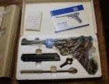 Original Mauser Interarms Parabellum 9mm Luger P08 6 Inch Semi Auto Pistol - 2 of 25