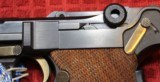 Original Mauser Interarms Parabellum 9mm Luger P08 6 Inch Semi Auto Pistol - 9 of 25