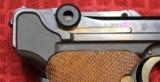 Original Mauser Interarms Parabellum 9mm Luger P08 6 Inch Semi Auto Pistol - 4 of 25