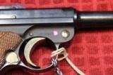 Original Mauser Interarms Parabellum 9mm Luger P08 6 Inch Semi Auto Pistol - 3 of 25