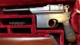 """""""Astra"""" Automatic Pistol Cal 7.63 (Broomhandle) with fitted case, Wood Shoulder Stock Holster - 6 of 25"""