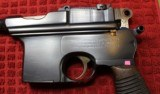"""""""Astra"""" Automatic Pistol Cal 7.63 (Broomhandle) with fitted case, Wood Shoulder Stock Holster - 9 of 25"""