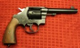 Colt 1917 DA45 Revolver Very Early issue 45ACP United States Property Marked #183 on Butt - 2 of 25