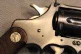 Colt Officers Model 22 LR Blue 6