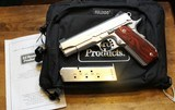 Ed Brown Executive Carry 1911 Skip Checkered 45ACP