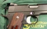 "Nighthawk Heinie PDP 1911 9mm 4 1/4"" Commander - 5 of 25"