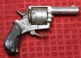 British Bulldog Folding Trigger Revolver. .320 Caliber (.32 caliber) 6-shot Revolver - 3 of 25