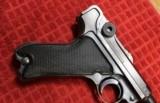 "World War II Mauser ""byf"" Code 1942 Production Black Widow P.08 Luger Pistol - 4 of 25"