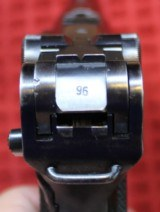 "World War II Mauser ""byf"" Code 1942 Production Black Widow P.08 Luger Pistol - 10 of 25"