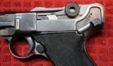 "World War II Mauser ""byf"" Code 1942 Production Black Widow P.08 Luger Pistol - 14 of 25"