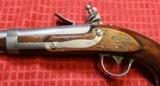 Exceptional Model 1836 Johnson Flintlock Pistol dated 1842 .54 Caliber - 7 of 25