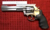 """Smithy & Wesson Model 617-6 .22LR, 6"""" Barrel with Scope Mount"""