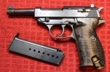 Walther P-38 AC42 9mm Semi Pistol w One Magazine - 1 of 25