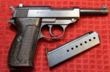 Walther P-38 AC42 9mm Semi Pistol w One Magazine - 2 of 25