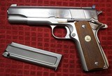Colt 1911 Service Model Ace 22 Long Rifle Electroless Nickel