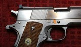 Colt 1911 Service Model Ace 22 Long Rifle Electroless Nickel - 4 of 25