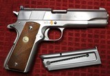 Colt 1911 Service Model Ace 22 Long Rifle Electroless Nickel - 2 of 25