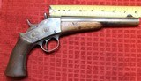 REMINGTON 1871 U.S. ARMY .50 CAL. CENTER FIRE ROLLING BLOCK PISTOL - 2 of 25