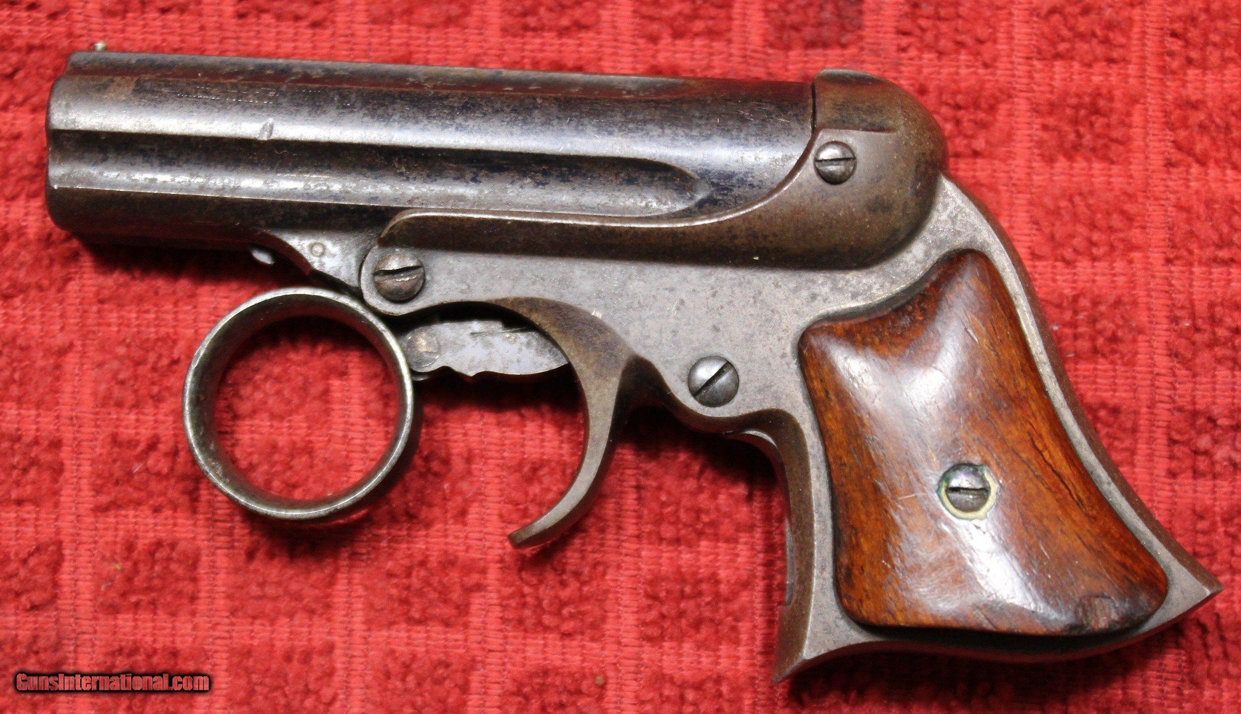 E  Remington & Sons, Elliot's patent Ring Trigger 5 Shot