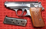 Walther PPK 1st Contract RZM circa 1935 7.65mm W One Magazine