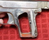 Colt 1908, Nickel with Factory Pearl Grips with Recessed Colt Medallions, Cal. .25 ACP - 21 of 25